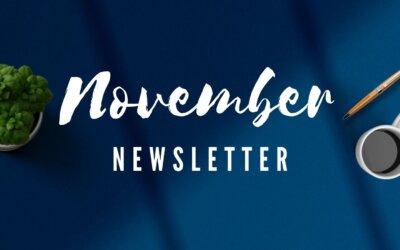 Read Our November Newsletter!