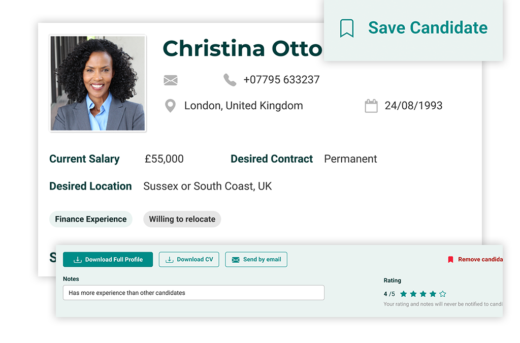 How to make more informed recruitment decisions using candidate profiles